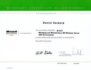 Microsoft Schulung: Windows Server