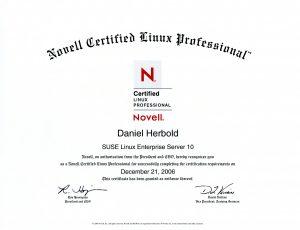 Novell Certified Linux Professional: SuSE Linux Enterprise Server 10